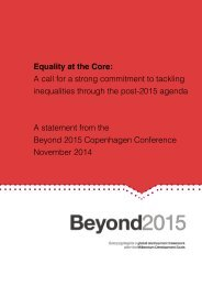 CPH Statement Equality at the Core layout