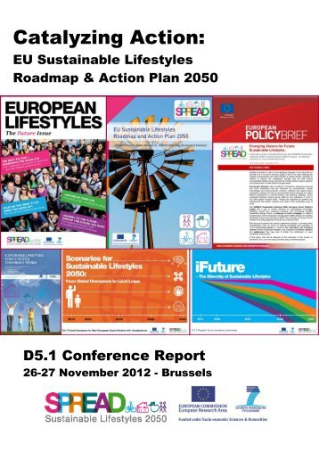 closing conference report [PDF] - SPREAD Sustainable Lifestyles ...