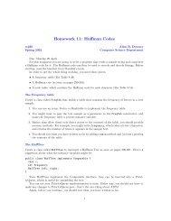 Homework 11: Huffman Codes - Allen B. Downey