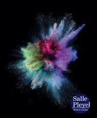 brochure 2013/2014 - Salle Pleyel