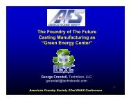 """The Foundry of The Future Casting Manufacturing as """"Green Energy ..."""