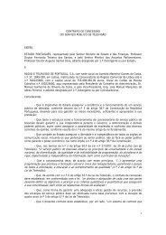 Contrato de Concessão do Serviço Público de Televisão - RTP