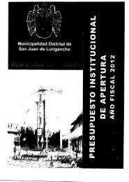 Untitled - Municipalidad de San Juan de Lurigancho