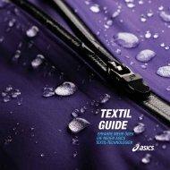 neuen ASICS Textil-Guide