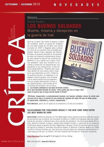 LOS BUENOS SOLDADOS - PlanetadeLibros.com