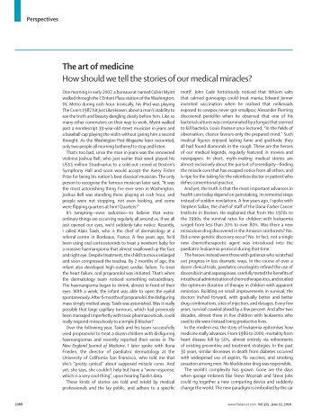 How should we tell the stories of our medical miracles? - Darshak ...