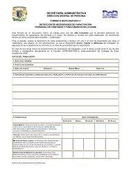 cdula para la deteccin de necesidades de capacitacin del ... - UNAM