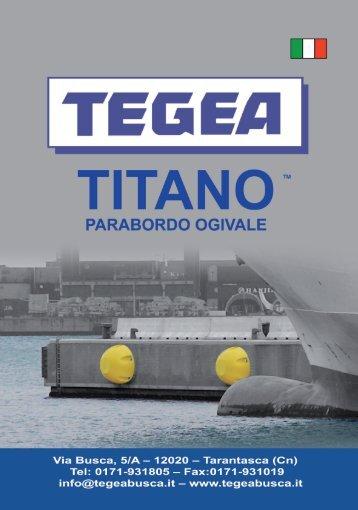 parabordo ogivale titano - Il Secolo XIX