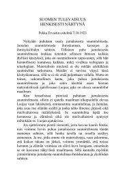 1923 10 07 Suomen tulevaisuus henkisesti nähtynä - Pekka Ervast