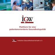 Flyer_IGW_5-08 Kopie 1.qxp - Initiative der Gesundheitswirtschaft eV