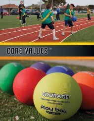 Core Values - A Sports Factory