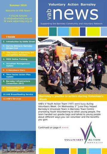 Inside - Voluntary Action Barnsley