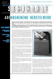 ds. Jan Willem Ploeg in Seminarie Nieuws 99 ... - Smouter.net
