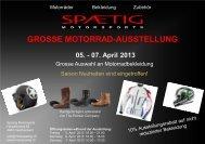 Ausstellungs-Flyer-April-2013 - SPAETIG Motorsports