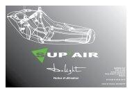 Notice d'utilisation - Sup'Air