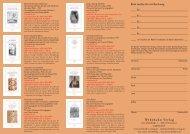 Programm - Wehrhahn Verlag