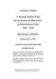 A Personal History - Cambridge University Library - University of ...