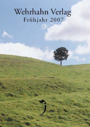 Hanjo Kesting - Wehrhahn Verlag