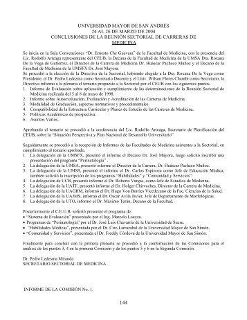 universidad mayor de san andrés 24 al 26 de marzo de 2004 ...