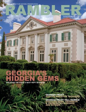 Summer 2012 - The Georgia Trust for Historic Preservation