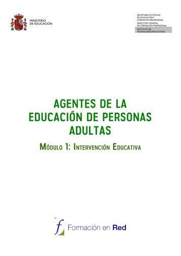 UNIDAD Nº 1- INTEREVENCIÓN EDUCATIVA - Instituto Nacional ...