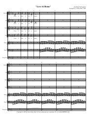 Love At Home - Free Choral Music: J. Ashley Hall