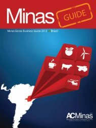 1 Minas Gerais Business Guide - 2012 | ACMinas