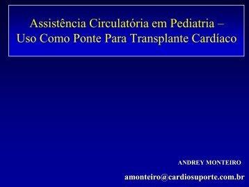Uso Como Ponte Para Transplante Cardíaco