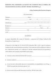 domanda per l'iscrizione all'elenco per la nomina del collegio ...