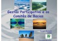 Gestão Participativa e os Comitês de Bacias - INBO