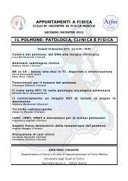 patologia, clinica e fisica - Aifm