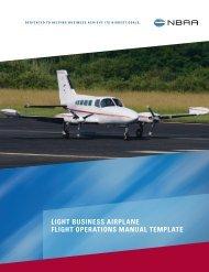 Flight Ops Manual - Twin Cessna Flyer