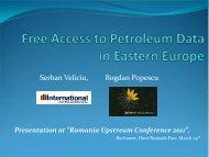 Romania Upstream Conference 2011 - Petroleumclub.ro