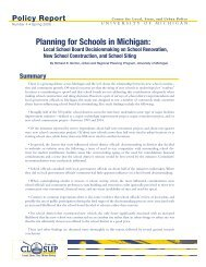 'pr-4-schools-sprawl.pdf'. - Center for Local, State, and Urban Policy