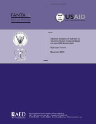 FANTA_Situation Analysis of Nutrition_Dec2010.pdf - Food Security ...