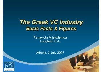 The Greek VC Industry The Greek VC Industry - Help-Forward