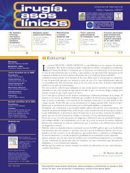Editorial - AEC_____Asociación Española de Cirujanos
