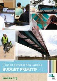 Téléchargez le dossier de presse du budget 2013 - Conseil général ...