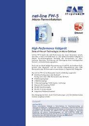 High-Performance Feldgerät - SAE IT-systems GmbH & Co. KG