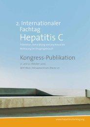 Hepatitis C in der Praxis - Suchthilfe Wien gGmbH