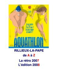 Aquathlon de Rillieux