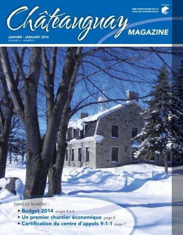 Châteauguay Magazine - Ville de Châteauguay