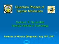 Quantum Phases of Dipolar Molecules