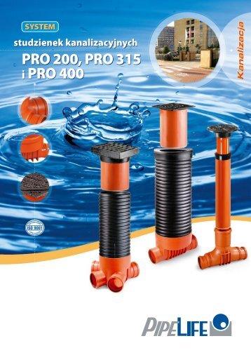 PRO 200, PRO 315 i PRO 400
