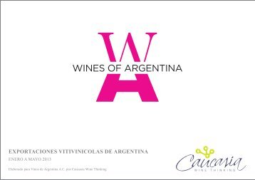 Enero a Mayo 2013 - Wines Of Argentina