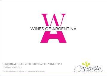 Enero a Mayo 2013 - Wines Of Argentina