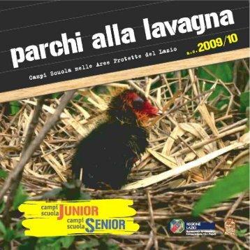 Scarica l'allegato in formato PDF - Parchi e Riserve naturali del Lazio