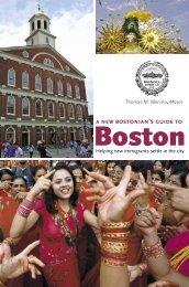 Mayor's Office of New Bostonians - City of Boston