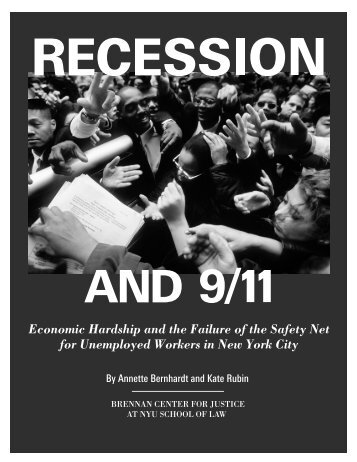 Recession and 9/11 - Brennan Center for Justice