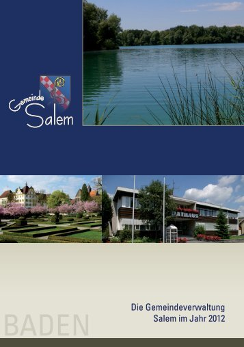 Die Gemeindeverwaltung Salem im Jahr 2012 - Gemeinde Salem